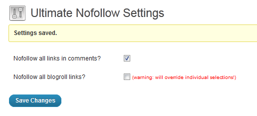 ultimate-nofollow-settings