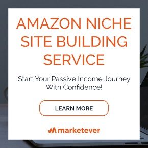Amazon Affiliate Niche Site Building Service